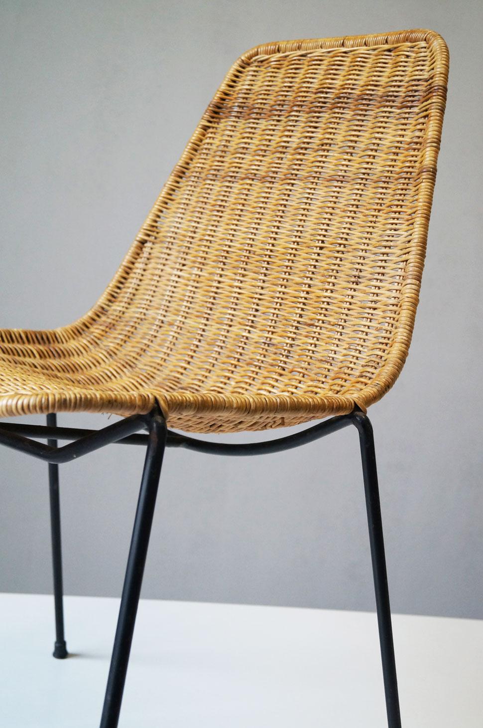 Sedia basket per home 20th century design for Sedia design 2016